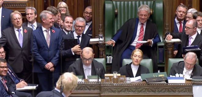 Boris Johnson paid compliment to the Speaker at his final Prime Minister's Questions