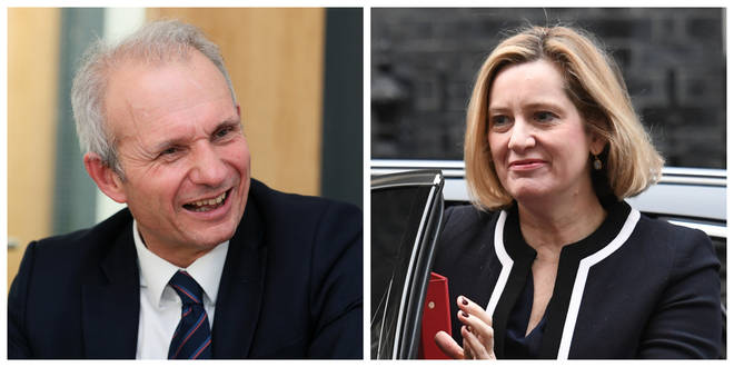 David Lidington and Amber Rudd have resigned from the Commons ahead of the early election