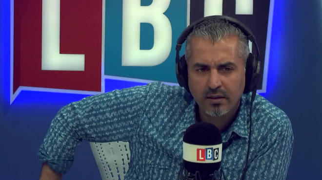 Maajid Nawaz was shocked by what he heard from Carl