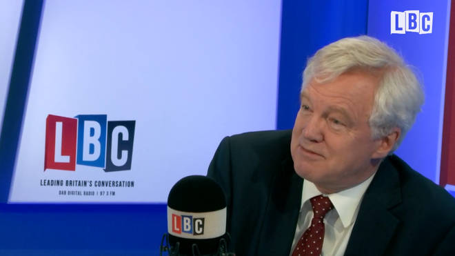 David Davis admitted that the EU are cross with Britain over Brexit negotiations