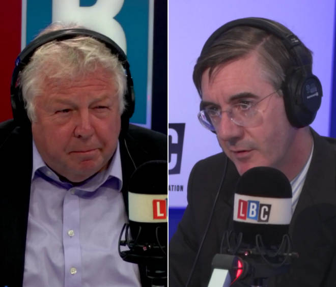 Nick Ferrari put Jacob Rees-Mogg on the spot