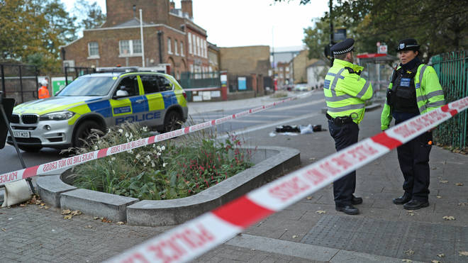 A Metropolitan Police firearms officer was run down during a vehicle stop on Monday