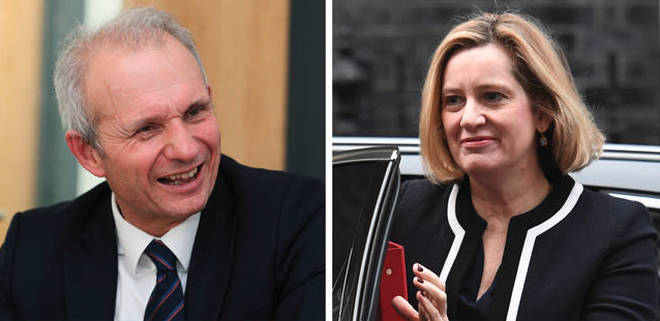 David Lidington and Amber Rudd have resigned from the Commons ahead of the early election.