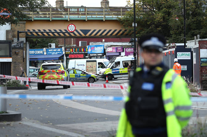 Police had stopped the vehicle in Tottenham, North London