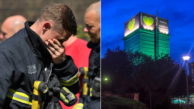 A firefighter who worked at Grenfell said everyone did their best to rescue residents