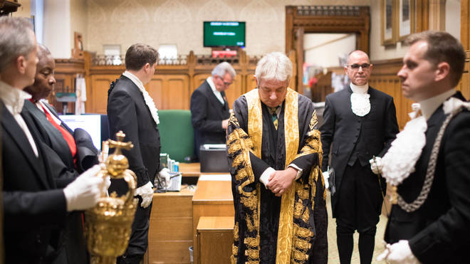 This marks the end of 10 years as Speaker, during which time he has presided over four prime ministers