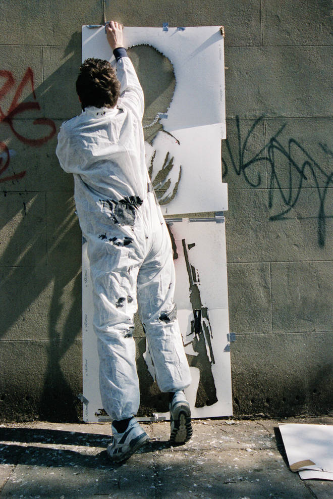 Steve Lazarides worked with Banksy for 11 years