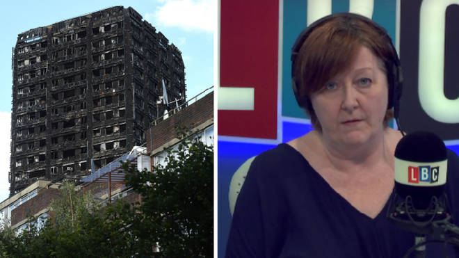"Shelagh Fogarty challenges caller who says the Grenfell inquiry will lead to a ""cover up""."