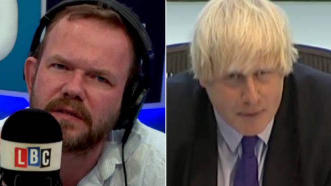 James O'Brien spoke about Boris Johnson