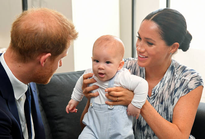 Meghan did not meet the President in June as she was on maternity leave
