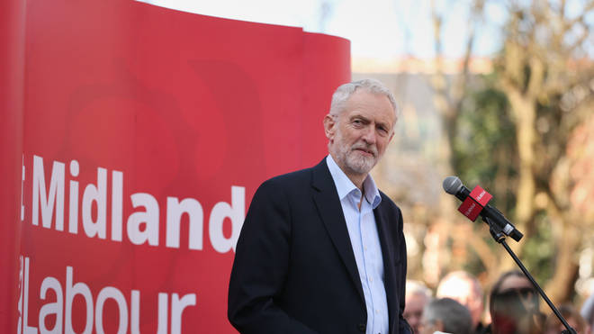 Jeremy Corbyn hit out at the US President't remarks almost immediately