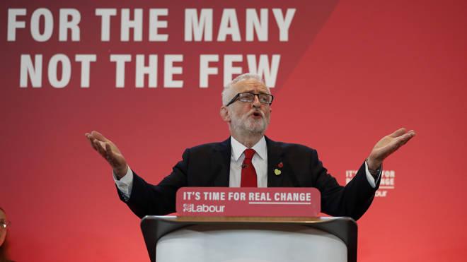Jeremy Corbyn immediately accused president Trump of 'meddling' in British politics