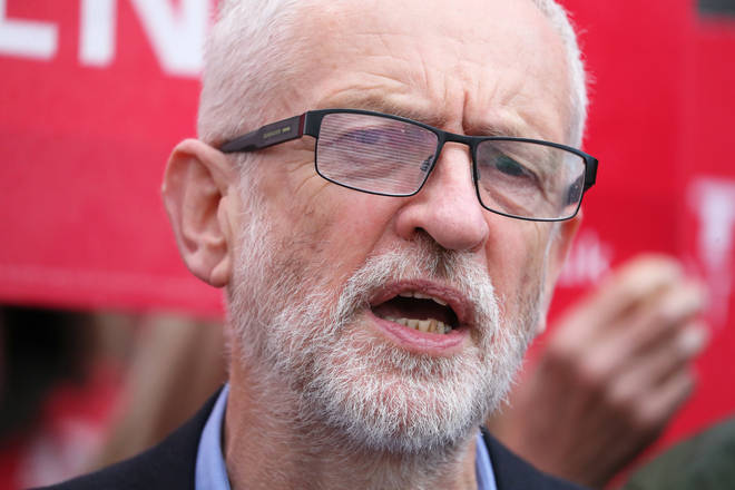 Jeremy Corbyn hit back almost immediately
