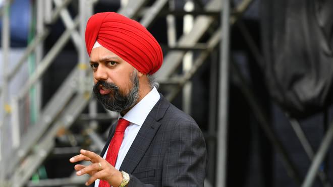 Labour MP Tanmanjeet Singh Dhesi