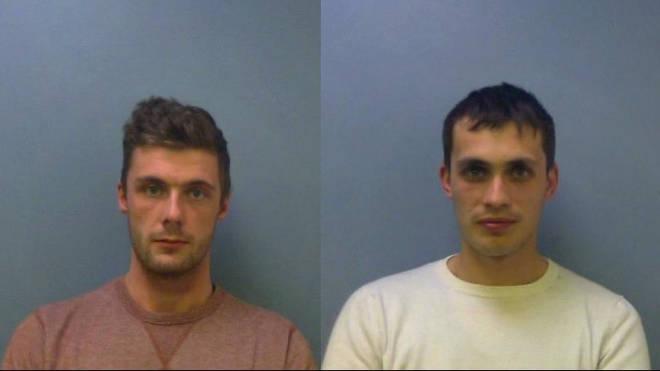 Leeman, (l), and Ruben (r) were both jailed