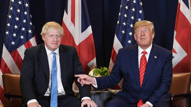 Trump spoke out on Boris Johnson