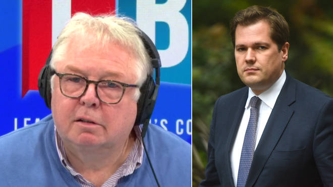 Nick Ferrari had some very tough questions for Communities Secretary  Robert Jenrick