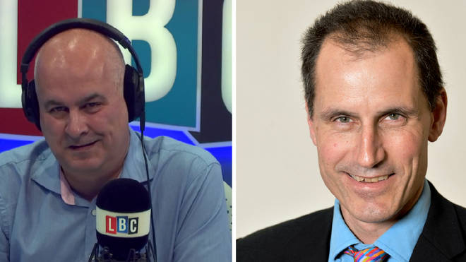Iain Dale corners shadow minister over Labour's position on the customs union.