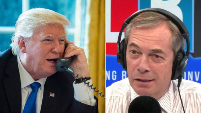 Donald Trump's interview with LBC made headlines across the world