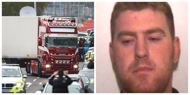 Ronan Hughes, who is wanted in connection with the Essex lorry deaths, has spoken to police