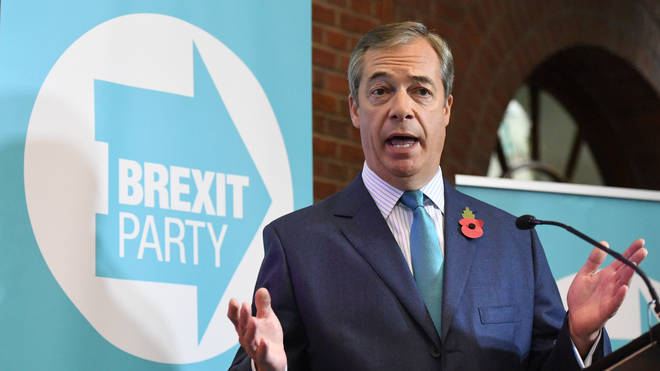 Nigel Farage launched the official beginning of the Brexit Party campaign today