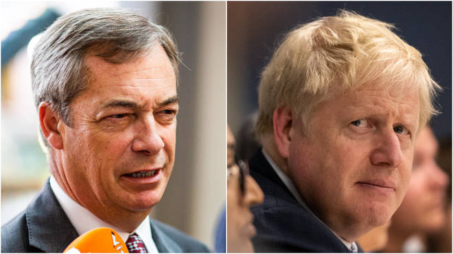 The Brexit Party want Tory MPs to renounce Boris Johnson's deal