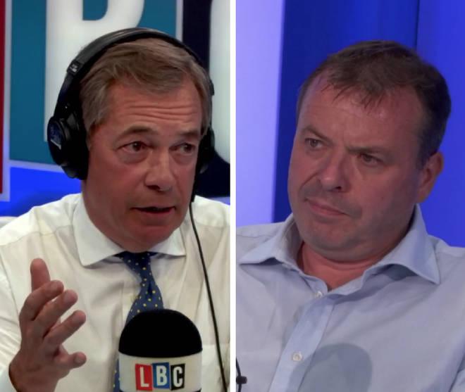 Arron Banks Nigel Farage
