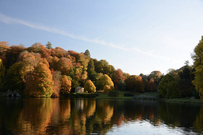 Autumn Watch: Stunning Views From A World-Famous Landscape Garden