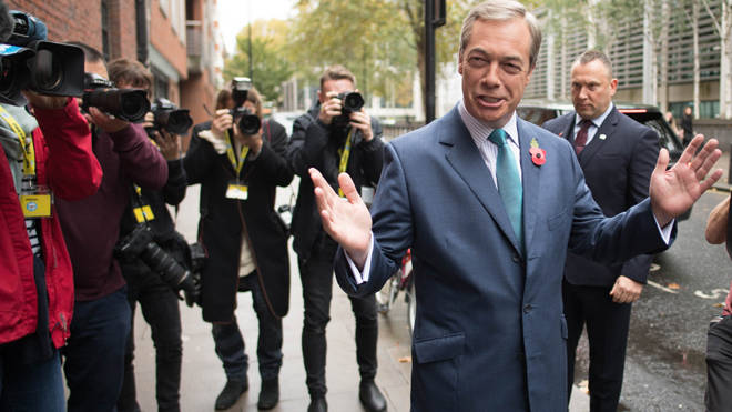 Donald Trump suggested Nigel Farage should team up with Boris Johnson in an exclusive LBC interview yesterday