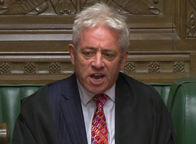 "John Bercow accused the Mirror of ""publishing lies"""