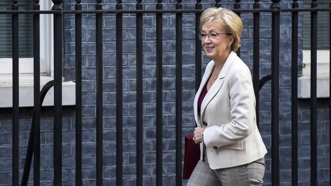 """Andrea Leadsom said the government was """"no longer convinced"""" shale gas could be extracted safely."""