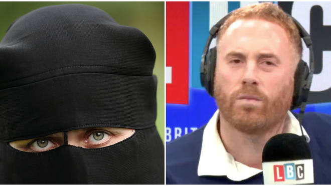 Two Callers Fiercely Clash Over Boris Johnson Burka 'Letterbox' Comment