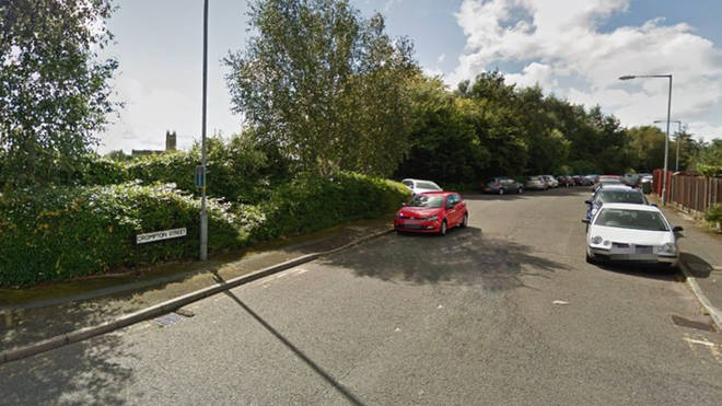 Paramedics were called to Crompton Street in Farnworth on Friday