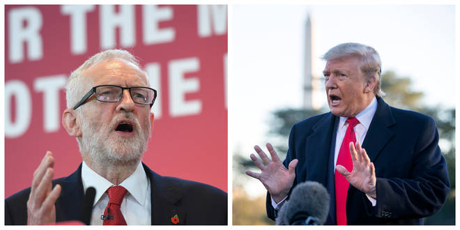 Jeremy Corbyn has responded to the Presiden't comments