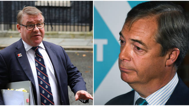 "Mark Francois Repeatedly Says Nigel Farage Has ""Lost The Plot"""