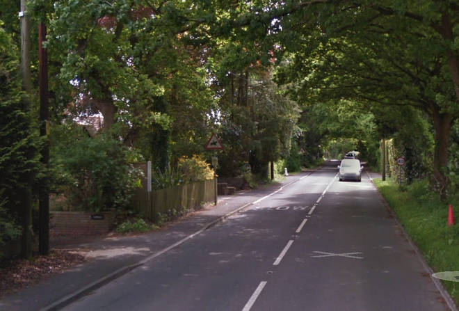 The fatal collision took place in Verwood Road, East Dorset