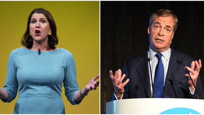 Lib Dem MP: Jo Swinson AND Nigel Farage Should Be Included In ITV Debate