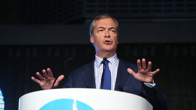 Nigel Farage Decides Not To Stand As Brexit Party MP