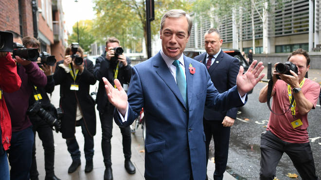 """Mr Farage said he wanted to form a Leave alliance """"for months"""""""