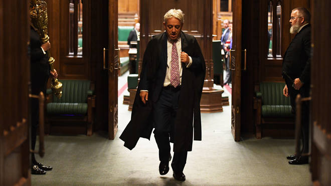 MPs are to announce John Bercow's replacement later