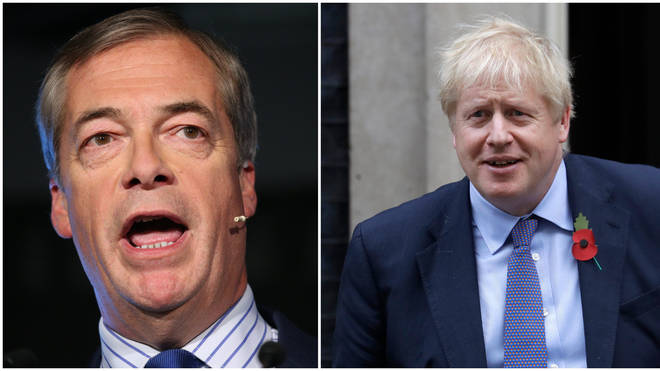 "Caller Argues It&squot;s Not Up To Nigel Farage ""To Save Boris Johnson&squot;s Bacon"""