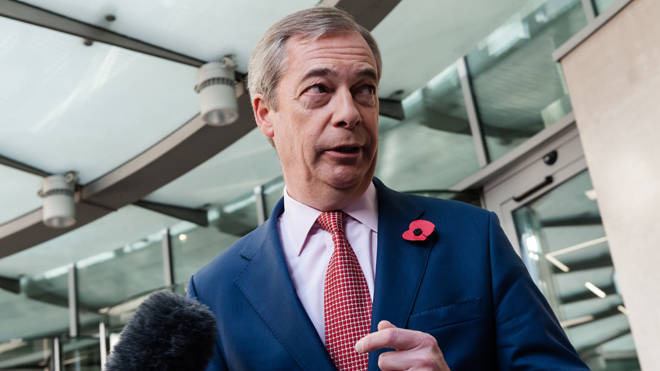 Nigel Farage criticised Tory backers of Boris's deal as 'good little boys'