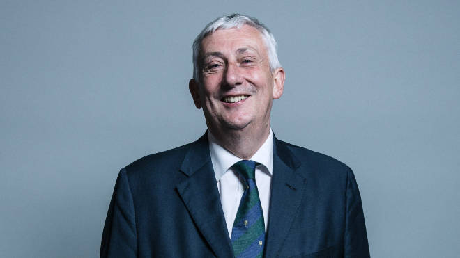 Sir Lindsay Hoyle was the favourite to replace Bercow
