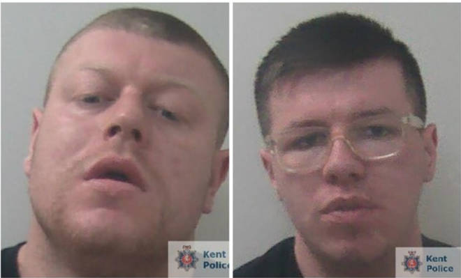 Bradley Scott and Matthew Keam were both jailed for a year