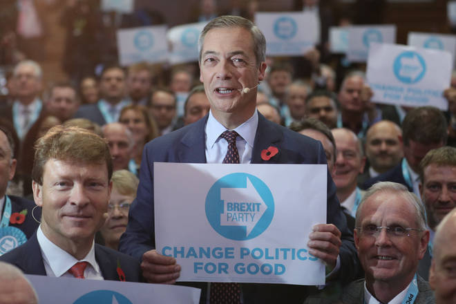 Mr Farage said his party would target Labour strongholds