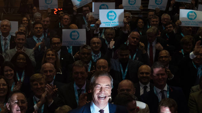 Brexit Party candidate names were not officially released