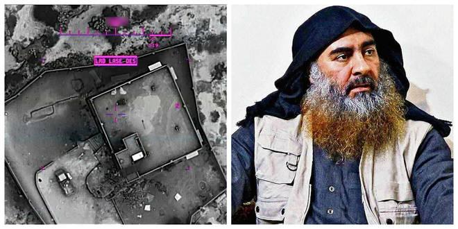 The sister of killed ISIS leader Abu Bakr al-Baghdadi has been captured