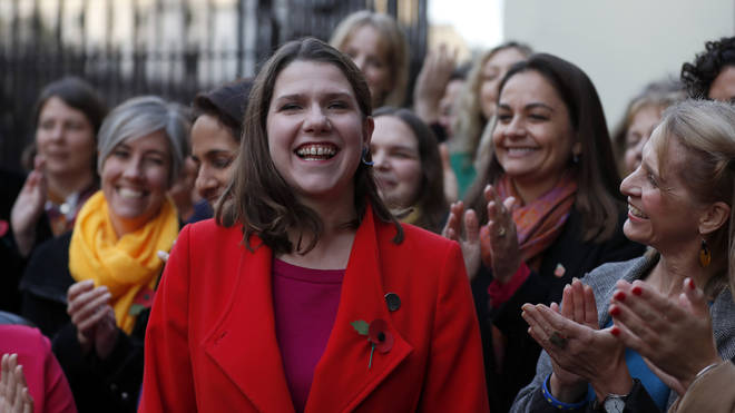 Lib Dem leader Jo Swinson plans to use money saved from Brexit for public services
