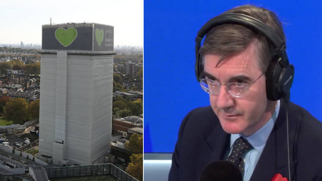 Jacob Rees-Mogg accused of insensitivity over his remarks about Grenfell