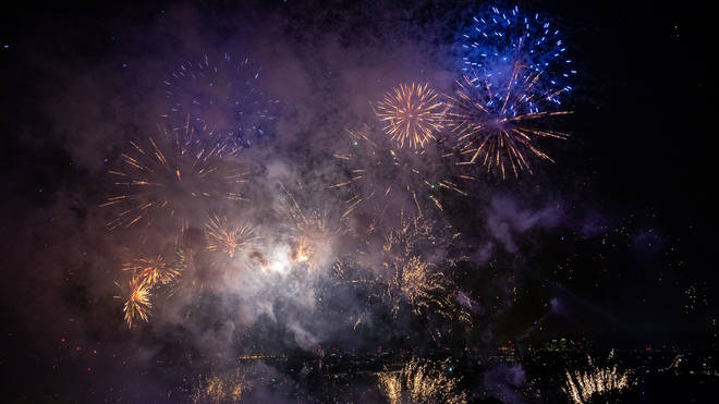 Air pollution levels rocketed to four times the usual daytime level on Bonfire Night last year